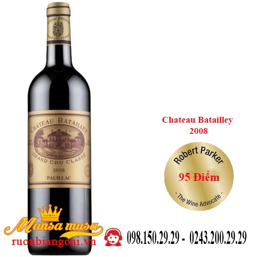 Chateau Batailley 2008