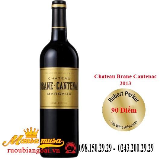 rượu vang pháp chateau brane cantenac