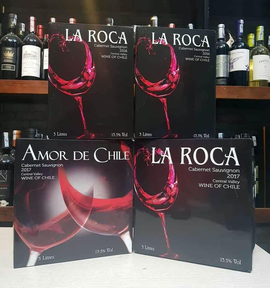 Rượu vang bịch la roca (3 lít – 5 lít)