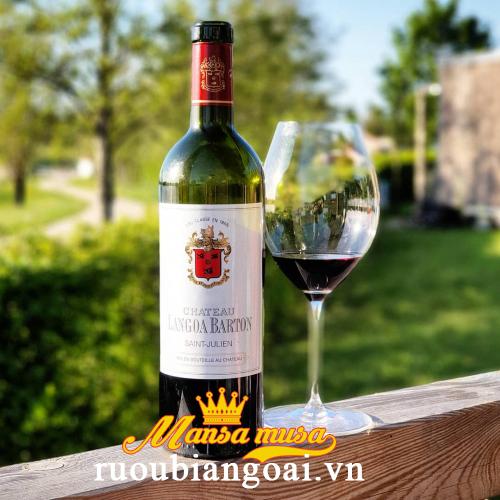Rượu vang Pháp Chateau Langoa Barton Saint Julien