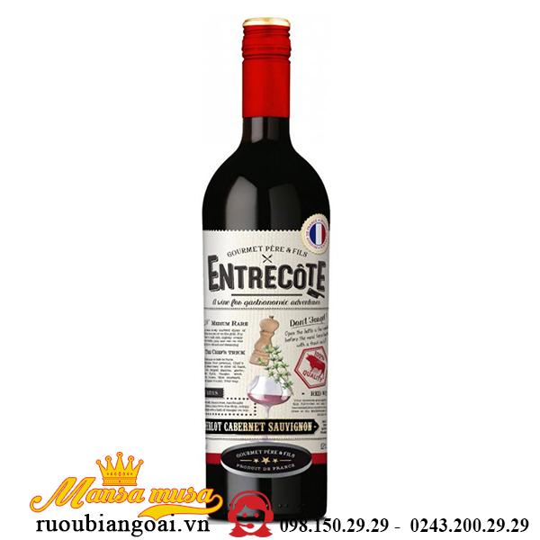 Rượu Vang Pháp Entrecote