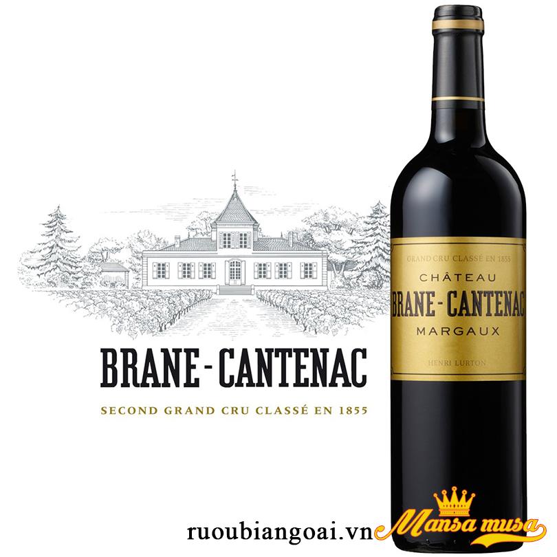 Vang Château Brane-Cantenac Margaux (Grand Cru Classé)