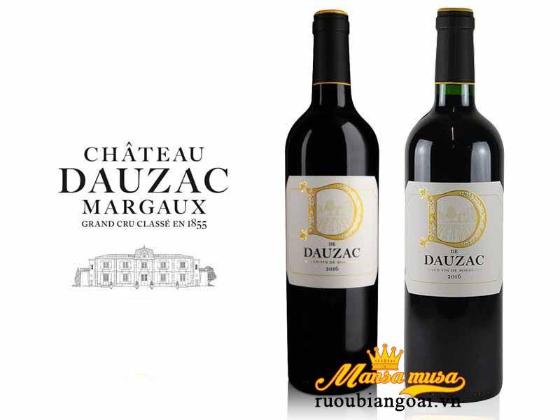 Rượu vang D De Dauzac