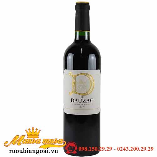 Vang Pháp D De Dauzac Bordeaux Thượng hạng