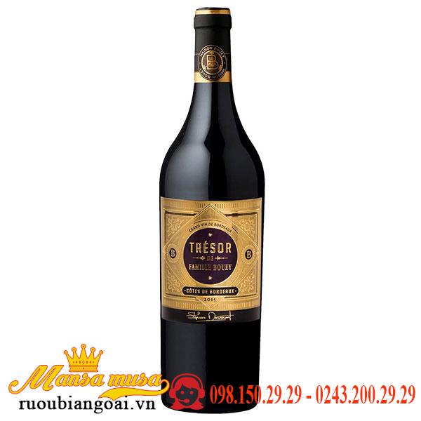 Vang Pháp Tresor De Famille Bouey Bordeaux