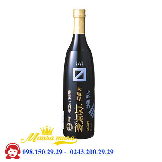 Rượu Osakaya Chobei Daiginjo 720 ml