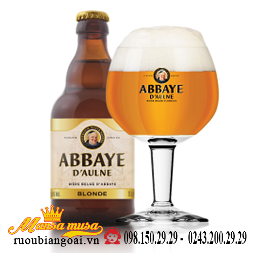 Bia Bỉ Abbaye D'aulne Blonde Ale