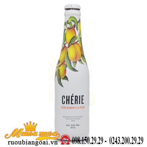 Bia Bỉ Cherie Peach