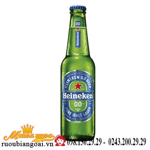 Bia Heineken Không Cồn 0% – Lon 330ml