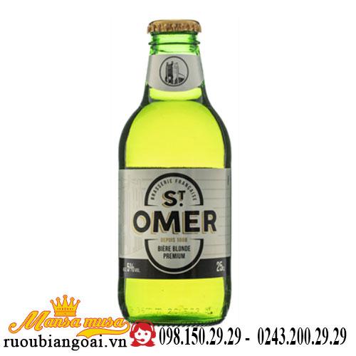 Bia Pháp Saint Omer 5 độ