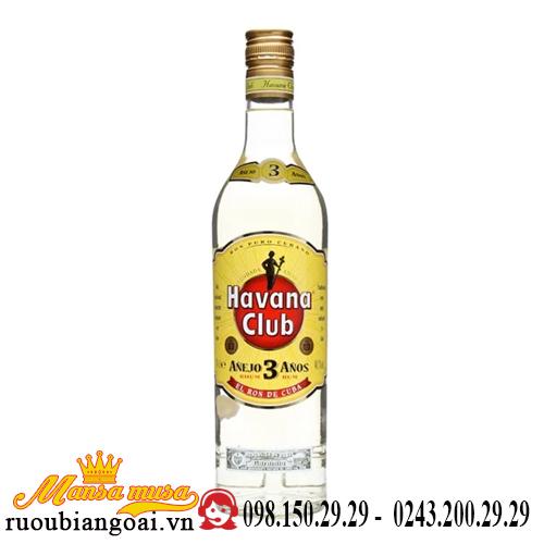 Rượu Havana Club 3 năm
