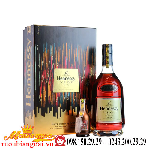 Rượu Hennessy VSOP hộp quà 2018