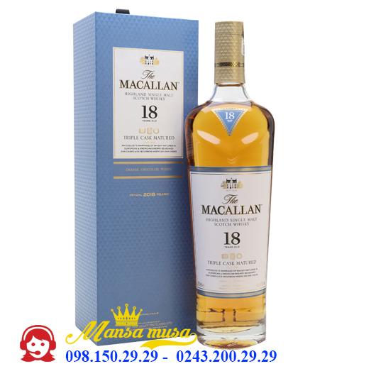 Rượu Macallan 18 Triple Cask Matured
