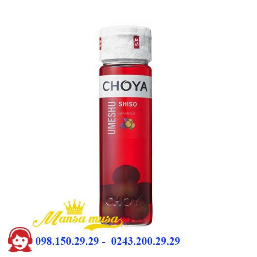 Rượu mơ Choya Shiso