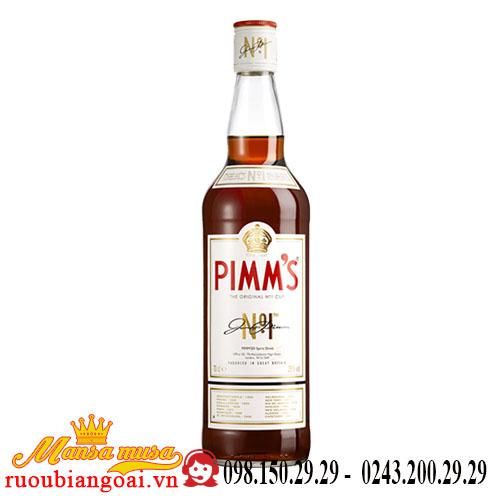 Rượu Pimm's No 1 Cup
