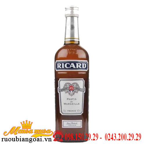 ricard - rượu mùi ricard
