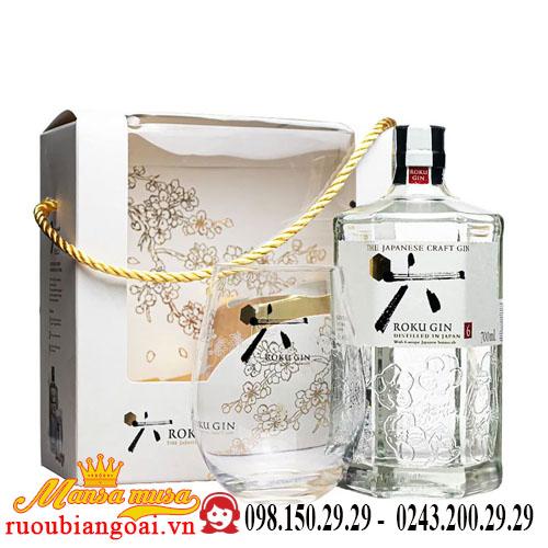 Rượu Roku Gin – hộp quà Tết
