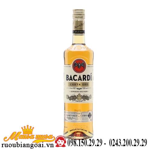 Rượu Rum Bacardi Carta Oro Gold