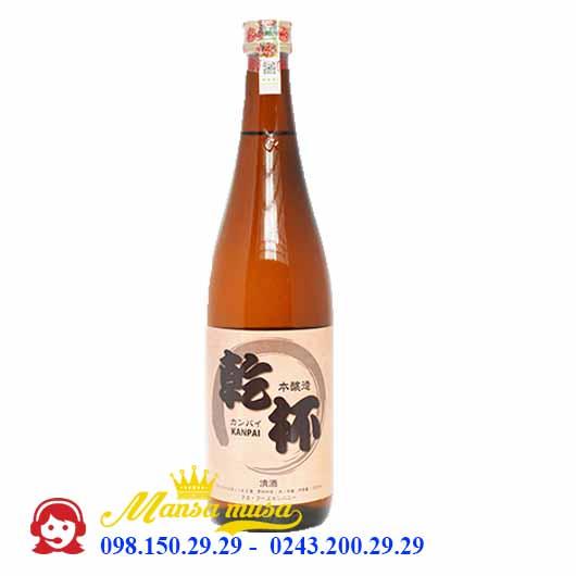 Rượu Sake Kanpai 720ml