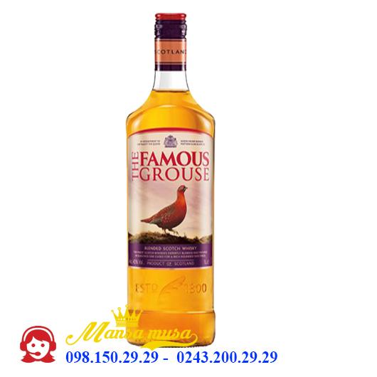 Rượu The Famous Grouse