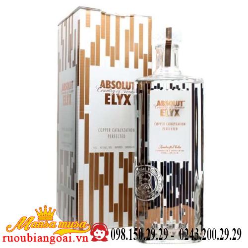 Rượu Vodka Absolut Elyx 4.5 lít