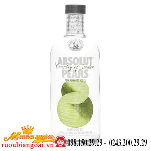 Rượu Vodka Absolut Pears
