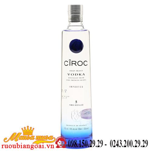 Rượu Vodka Ciroc 3 lít