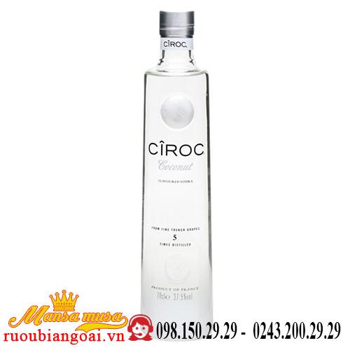 Rượu Vodka Ciroc Coconut