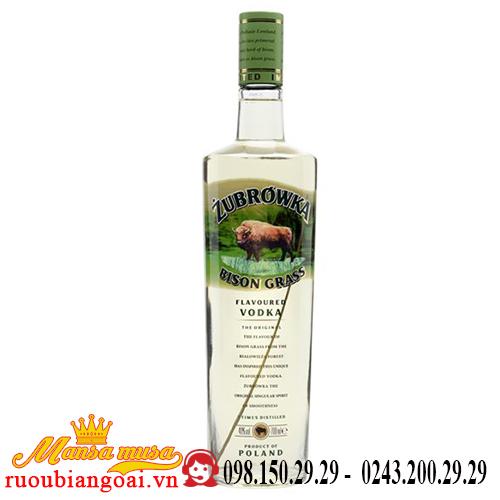 Rượu Vodka Cỏ Zubrowka