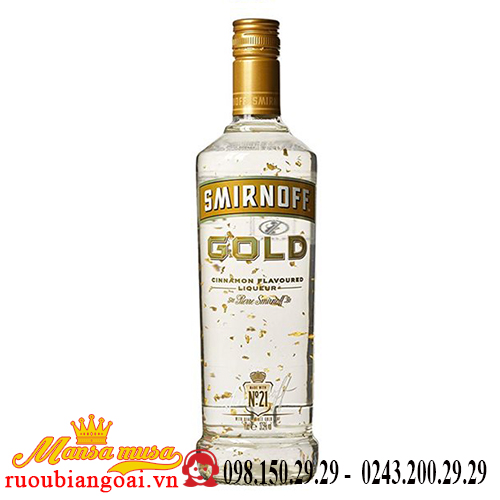 Rượu Vodka Smirnoff Gold