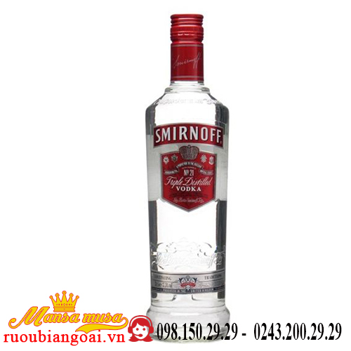 Rượu Vodka Smirnoff Red