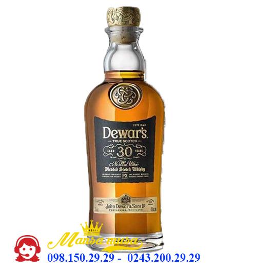 Rượu Whiskey Dewar's 30 Năm