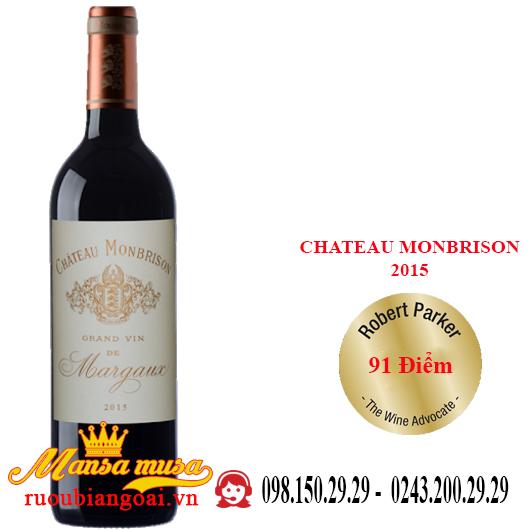 Vang Pháp Chateau Monbrison 2015