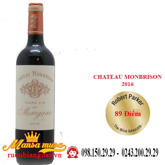 Vang Pháp Chateau Monbrison 2016
