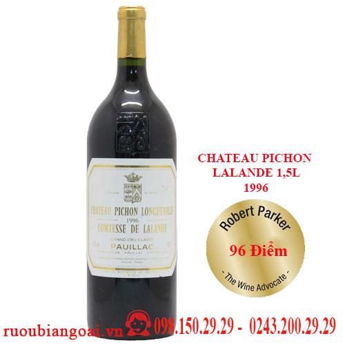 Vang Pháp Chateau Pichon Lalande 1,5l 2006