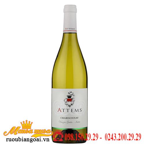 Vang Ý Attems Chardonnay