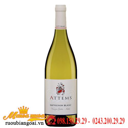Vang Ý Attems Sauvignon Blanc