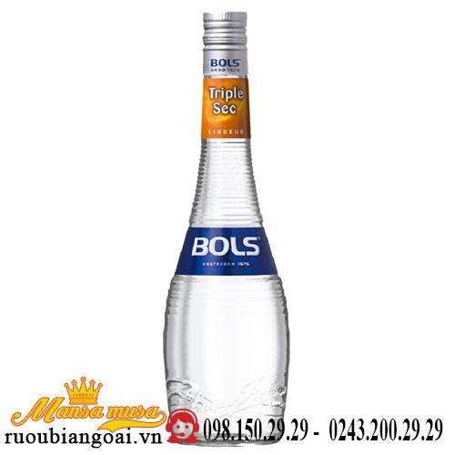 Rượu Bols Triple Sec