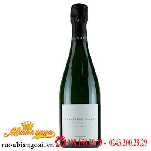 Rượu Vang Champagne Frederic Savart L Ouverture Premier Cru Brut