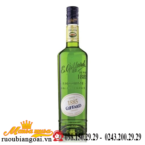 Rượu Green Melon Giffard