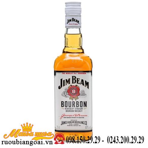 Rượu Jim Beam White
