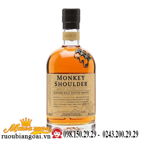 Rượu Monkey Shoulder