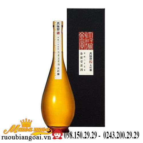 Rượu Sake Gekkeikan Gold Prize 720ml