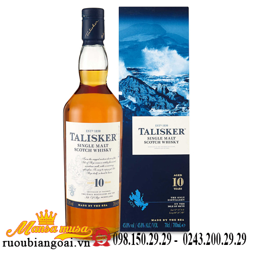 Rượu Talisker 10 Năm