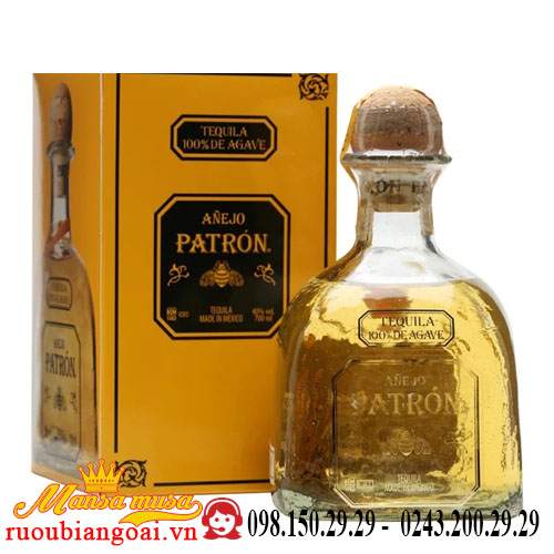 Rượu Tequila Patron Anejo