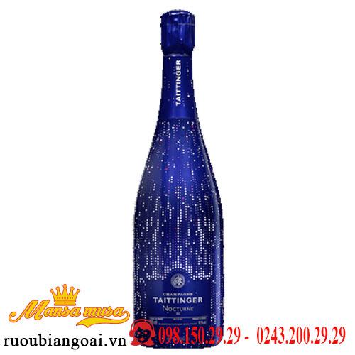 Rượu Vang Nổ Taittinger Nocturne Champagne City Lights