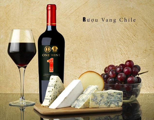 Rượu Vang Chile One Wine Cabernet Sauvignon và các món ăn