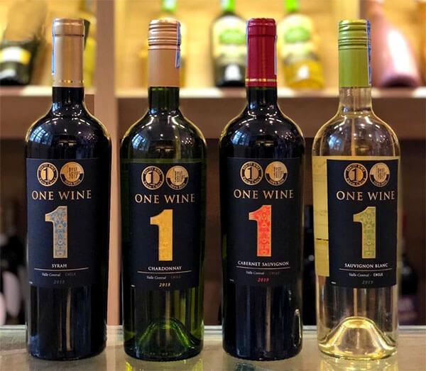 Rượu Vang One Wine Cabernet Sauvignon trắng các loại