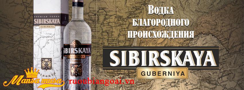 Rượu Vodka Sibirskaya