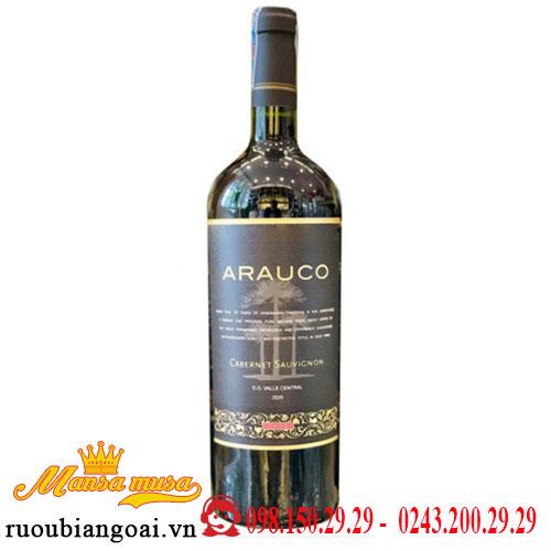 Vang Chile Arauco Cabernet Sauvignon